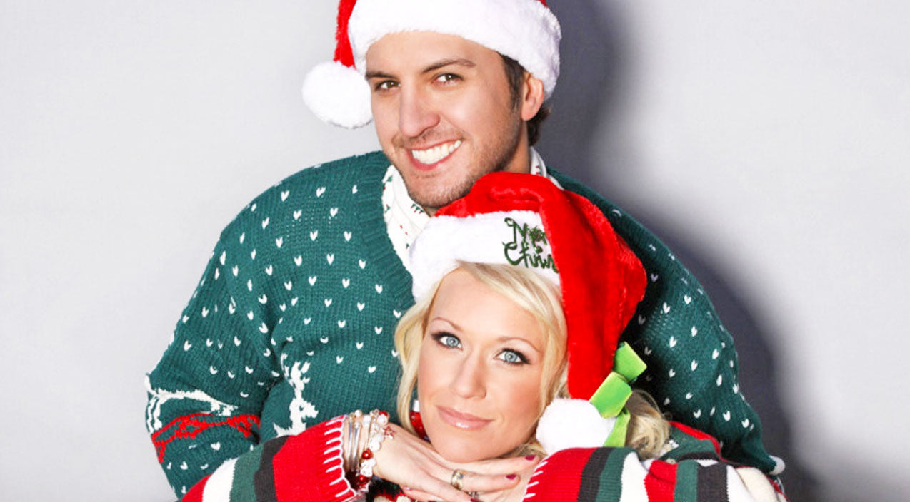 Luke Bryan & Wife Win At Making Christmas Cards, And Here's Why ...