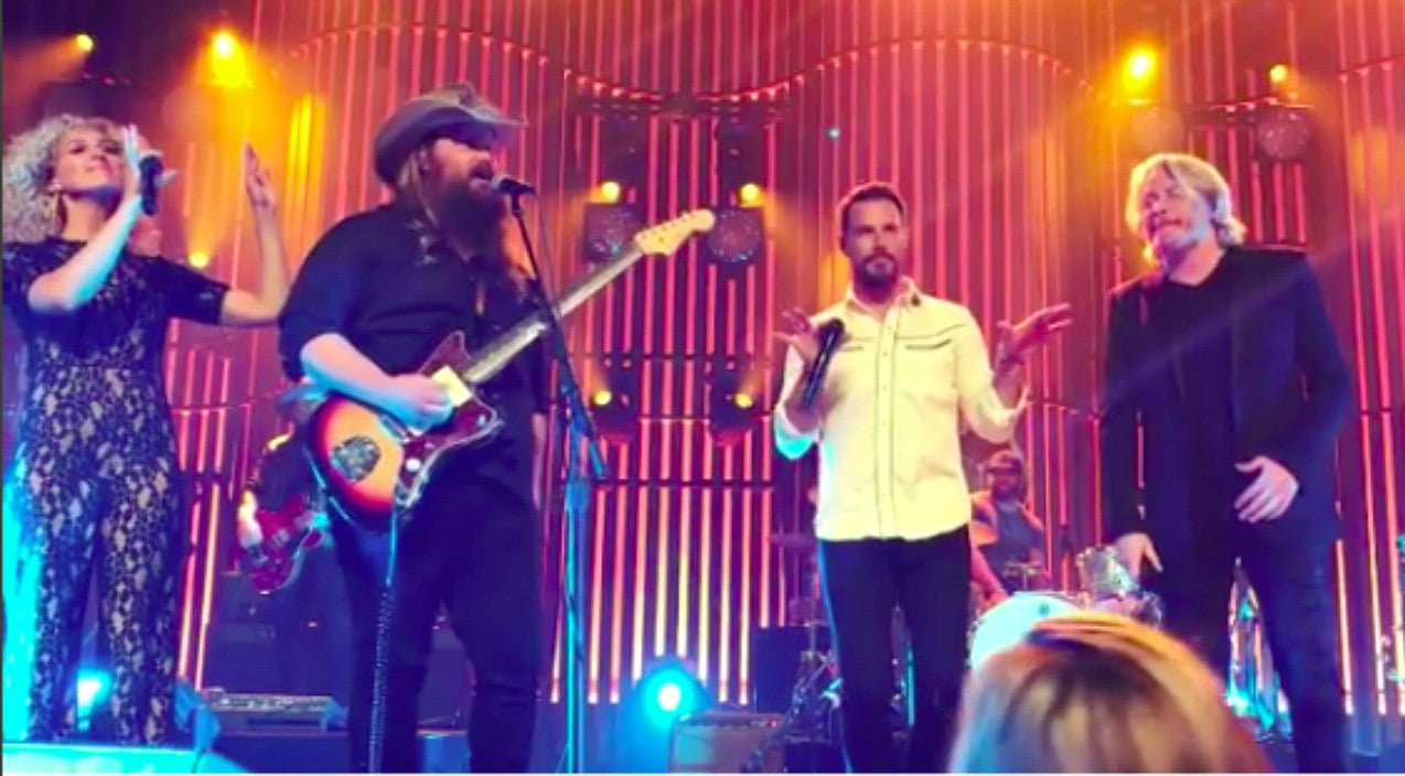 Little big town Songs | Chris Stapleton's Surprise Performance With Little Big Town Was Sweet As Strawberry Wine | Country Music Videos