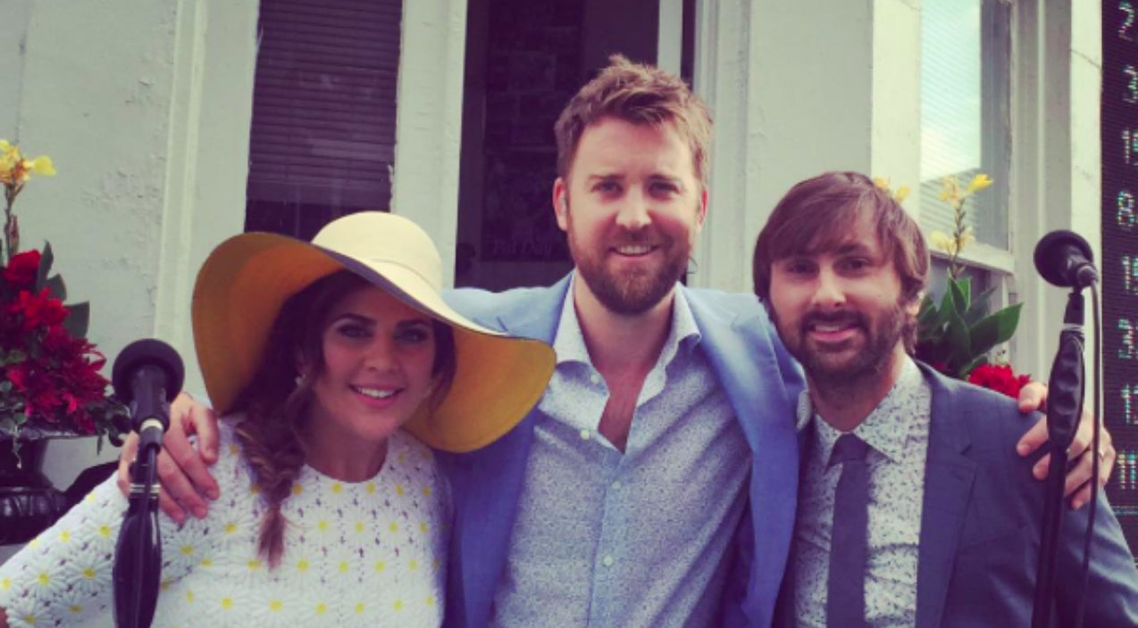 Lady antebellum Songs   Lady Antebellum Pulls Off Flawless National Anthem In The Rain Prior To Kentucky Derby   Country Music Videos