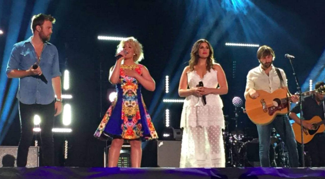 Lady antebellum Songs | Lady Antebellum And Cam Make Surprise Appearance Together At CMA Fest Concert | Country Music Videos