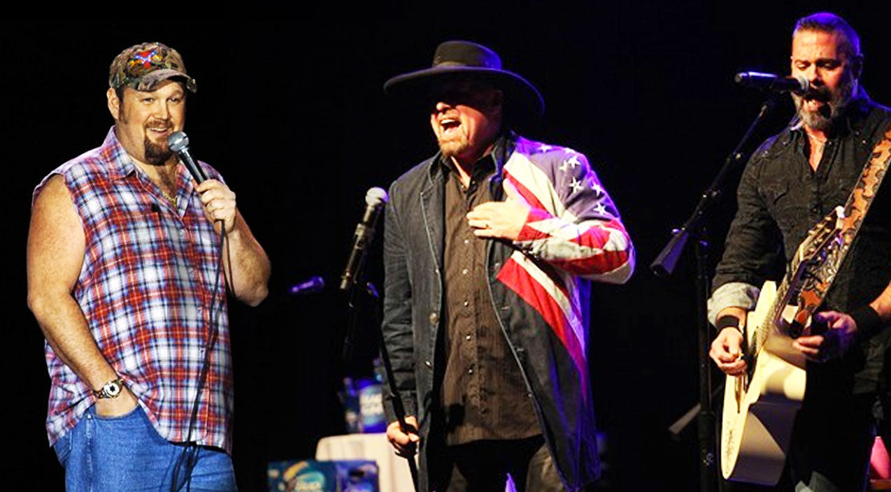 Montgomery gentry Songs | Watch Larry The Cable Guy Jam Out With Eddie & Troy In Rare Live Performance | Country Music Videos