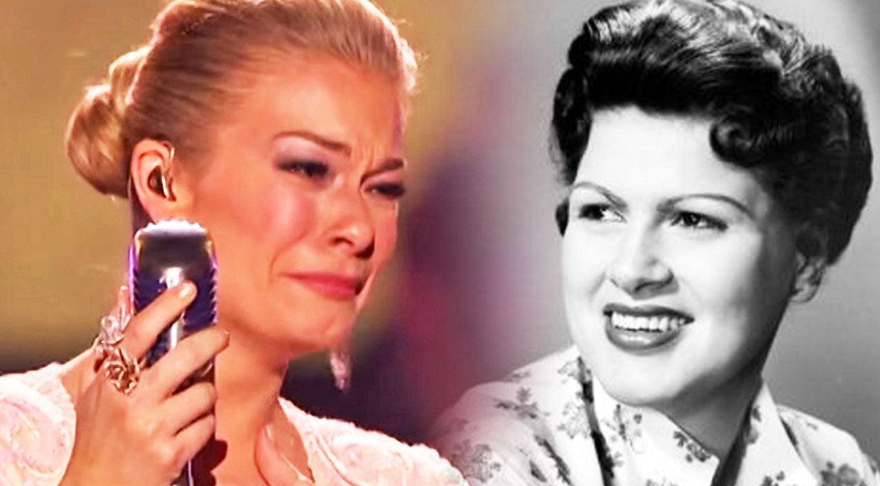 Patsy cline Songs | LeAnn Rimes Sings Through Tears In This Glorious Patsy Cline Tribute | Country Music Videos