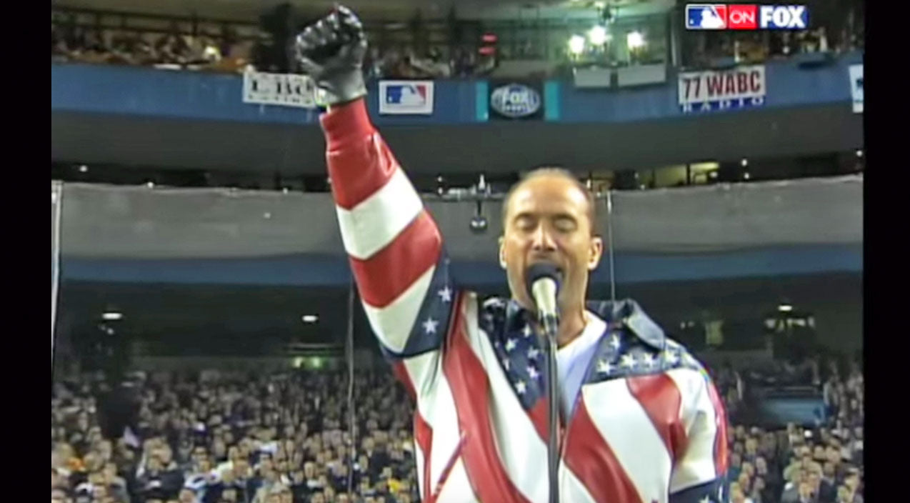 Lee greenwood Songs | Lee Greenwood's 'God Bless The USA' Moves Yankee Stadium To Tears | Country Music Videos