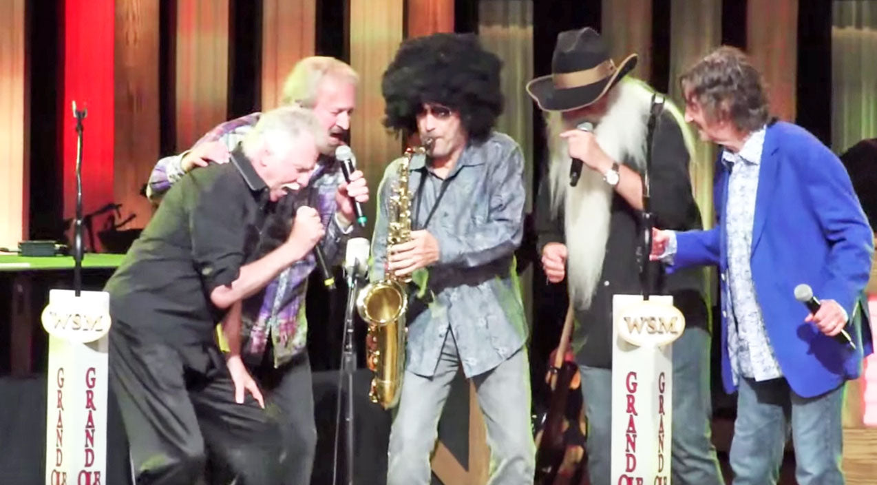 Oak ridge boys Songs | Lee Greenwood Takes Opry Performance To The Next Level In Hilarious Wig! | Country Music Videos