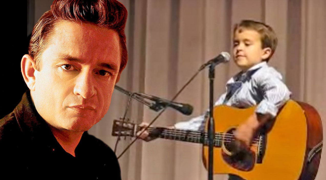 Johnny cash Songs | Explosively Talented Second Grader Shocks Crowd With Insane Johnny Cash Performance | Country Music Videos