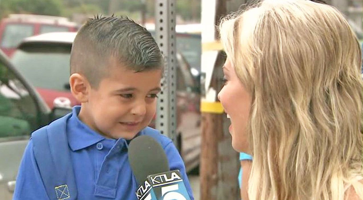 News Songs | Little Boy Has Priceless Reaction When Asked About First Day Of School | Country Music Videos