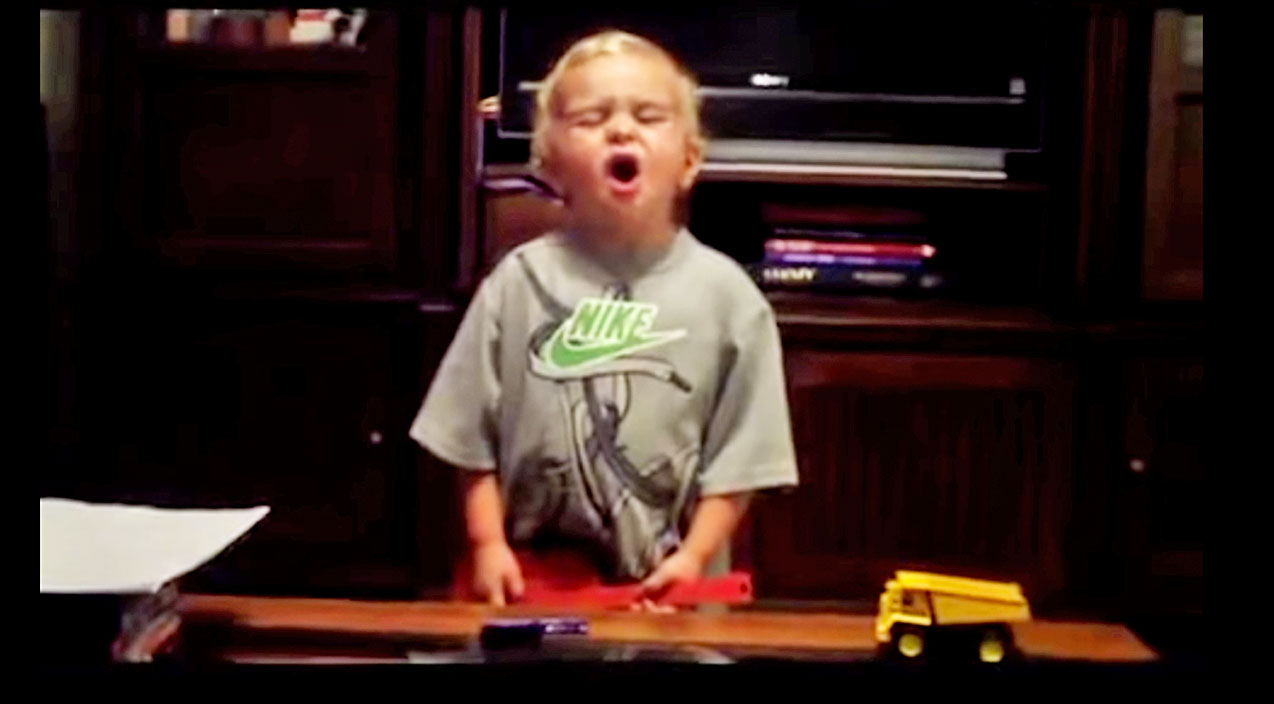 Randy houser Songs | Notorious Toddler From 'Boots On' Video Rocks Out At Home | Country Music Videos