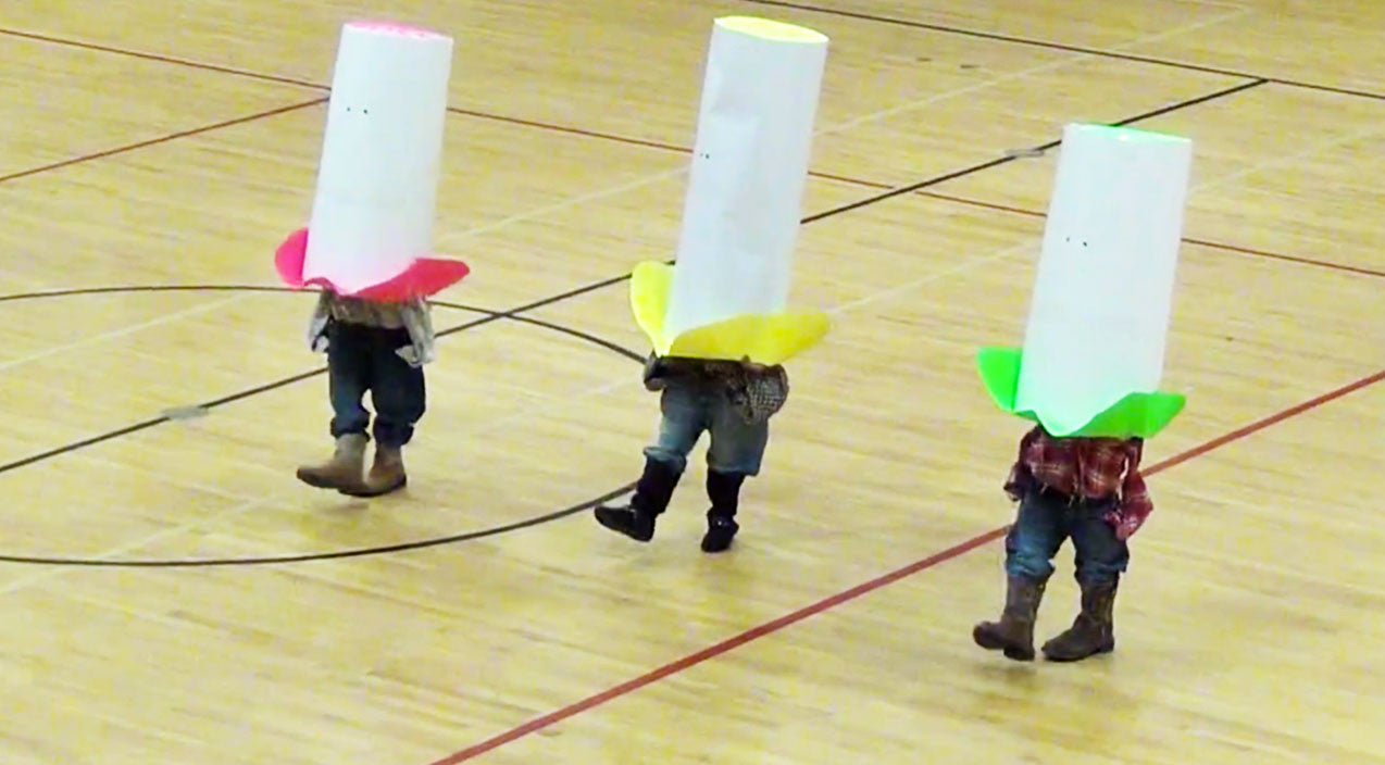 Viral content Songs | Little Cowboys, Huge Hats! 3 Students Give Hysterical Dance To 'Elvira' | Country Music Videos