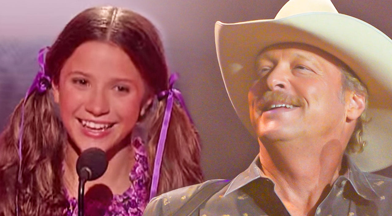 Alan jackson Songs | Young Girl Yodels Like A Pro To Alan Jackson's 'Itty Bitty' | Country Music Videos