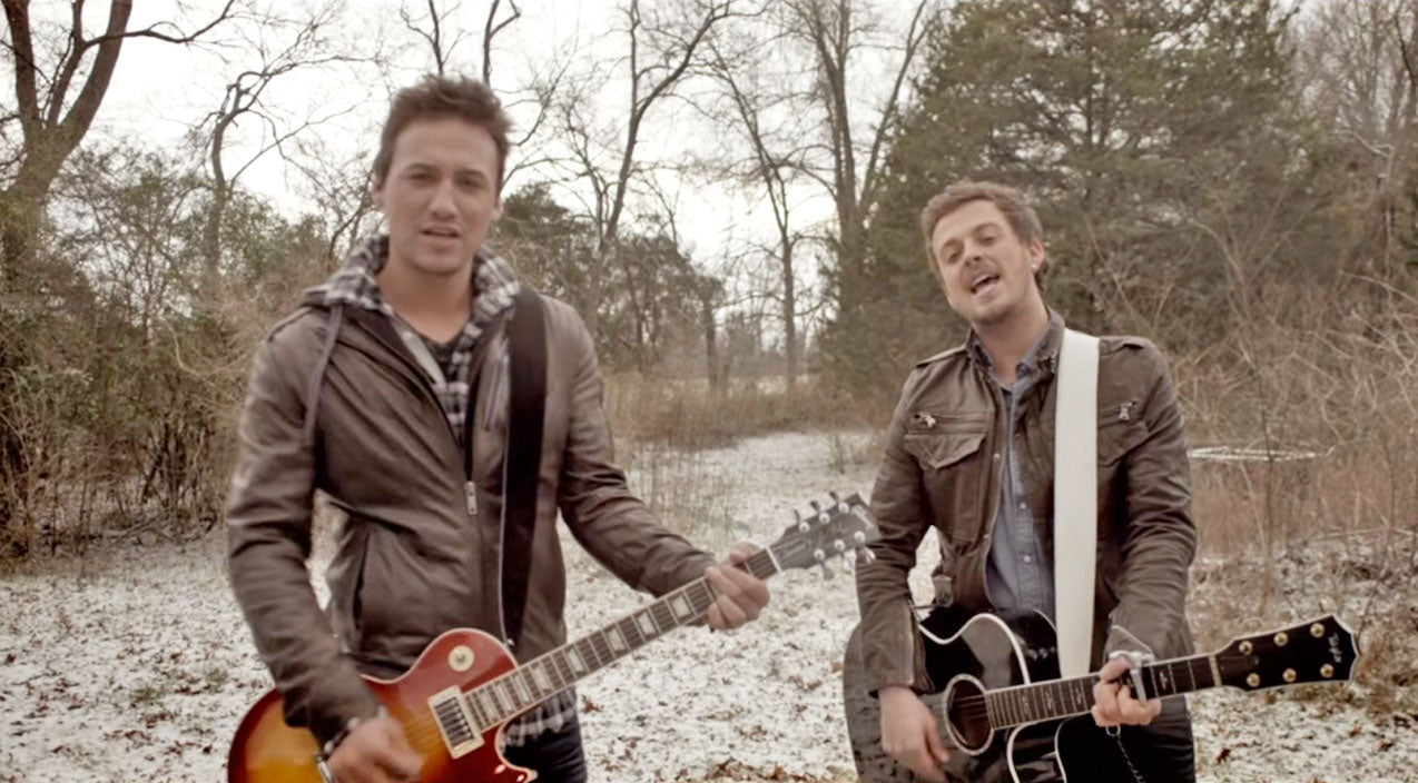 Love and theft Songs | Love And Theft's 'Angel Eyes' Captures First #1 For The Duo | Country Music Videos