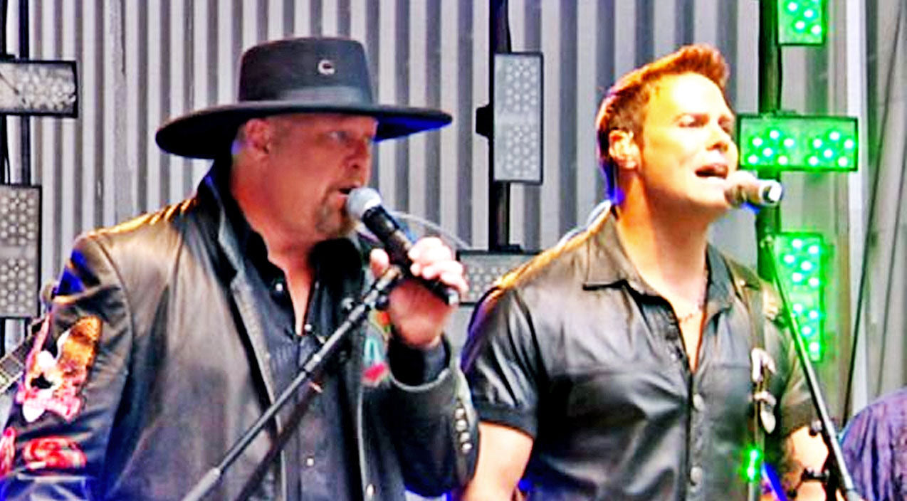 Montgomery gentry Songs | Inspiring 'Lucky Man' Performance Reminds Us All To Be Grateful | Country Music Videos