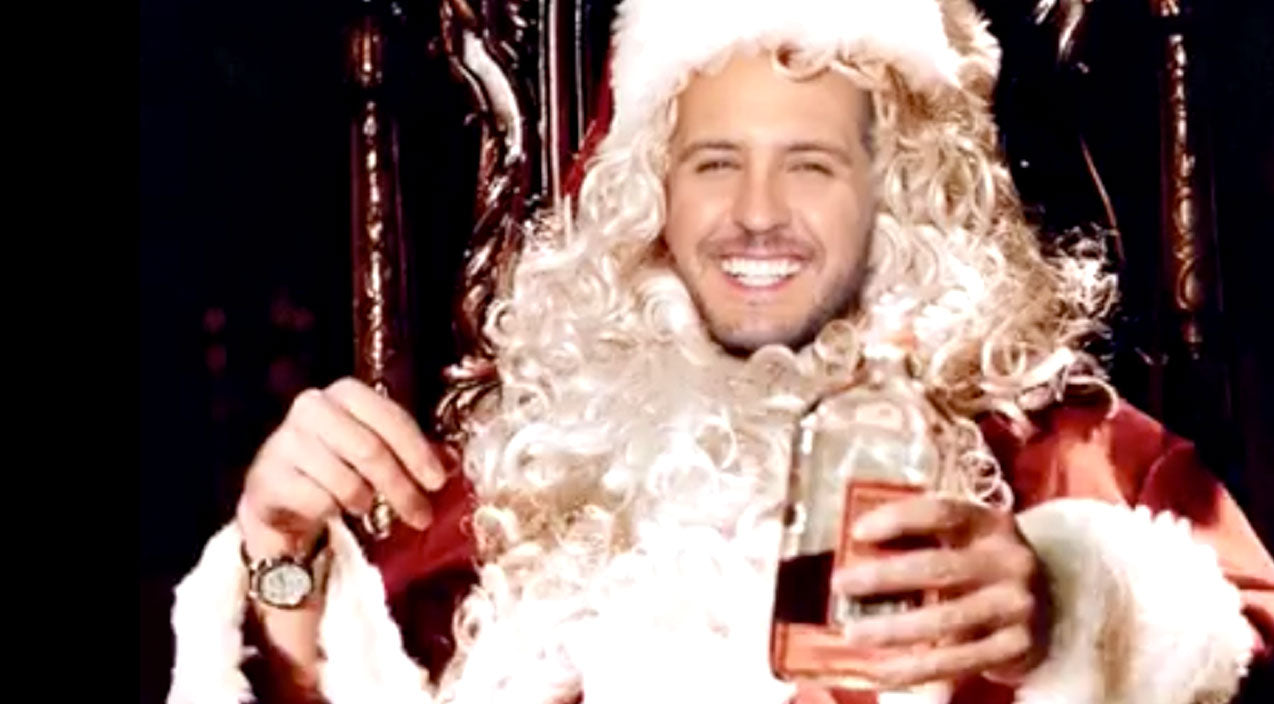 Modern country Songs | Can You Imagine Luke Bryan As The Face Of Your Favorite Christmas Movies? | Country Music Videos