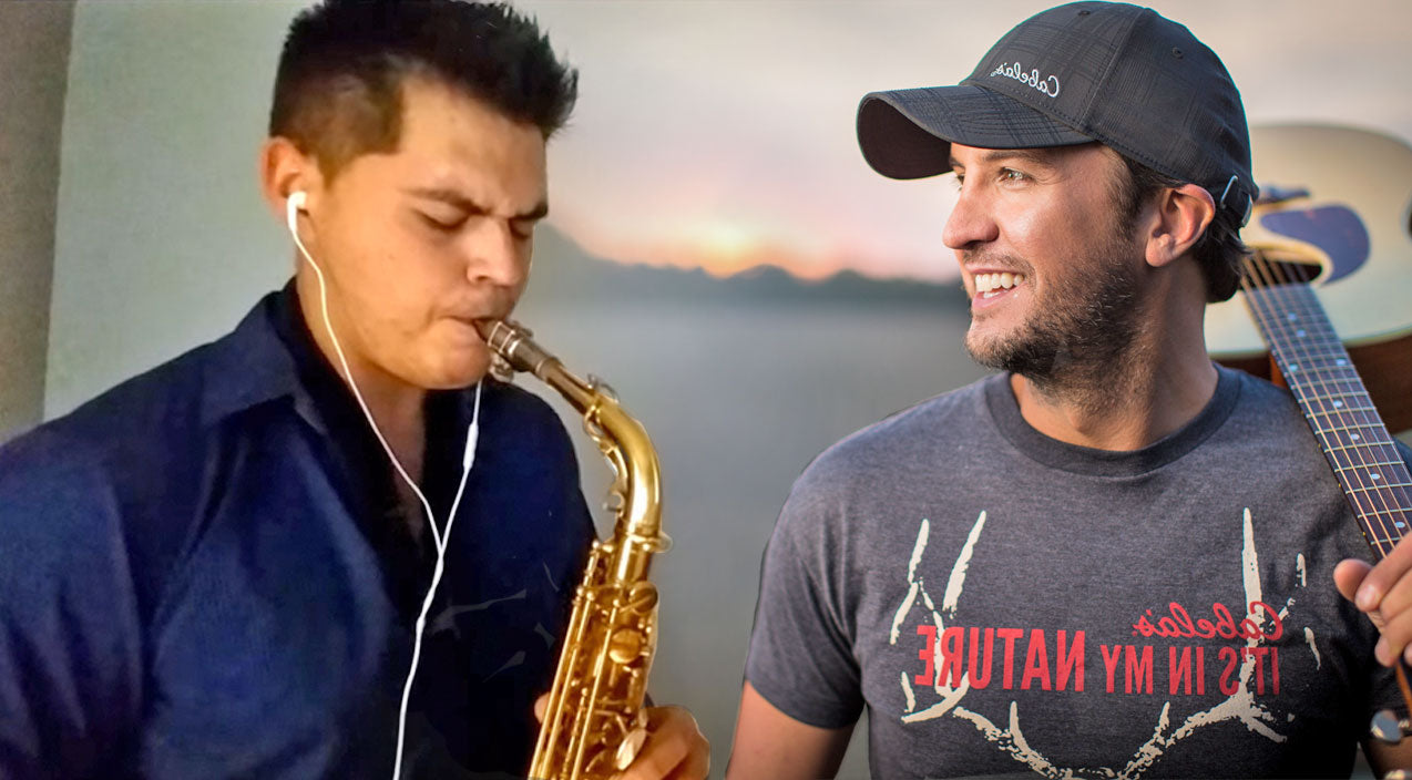 Modern country Songs | A Saxophone Takes On Luke Bryan's 'Strip It Down' And It's INCREDIBLE | Country Music Videos