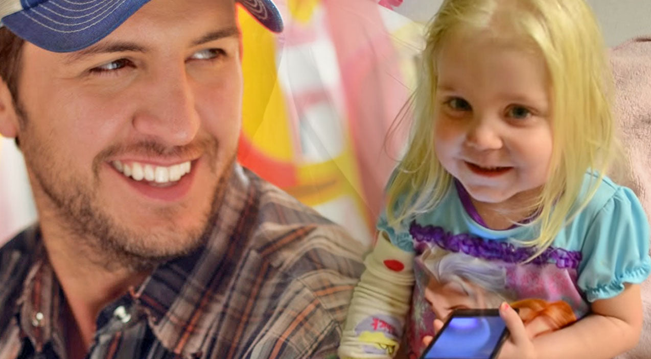 Luke bryan Songs | Luke Bryan's Music Calms Little Girl With Leukemia (Tear-Jerker!) (WATCH) | Country Music Videos