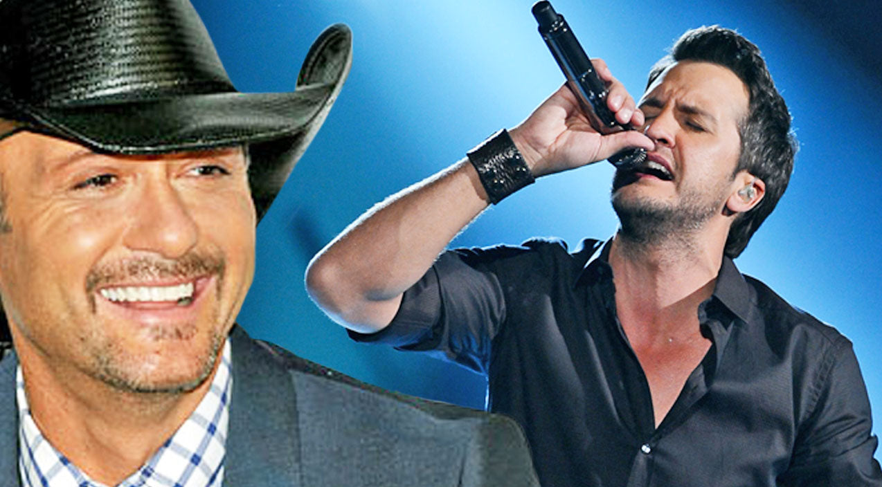 Tim mcgraw Songs | Luke Bryan Serenades Tim McGraw With Taylor Swift's