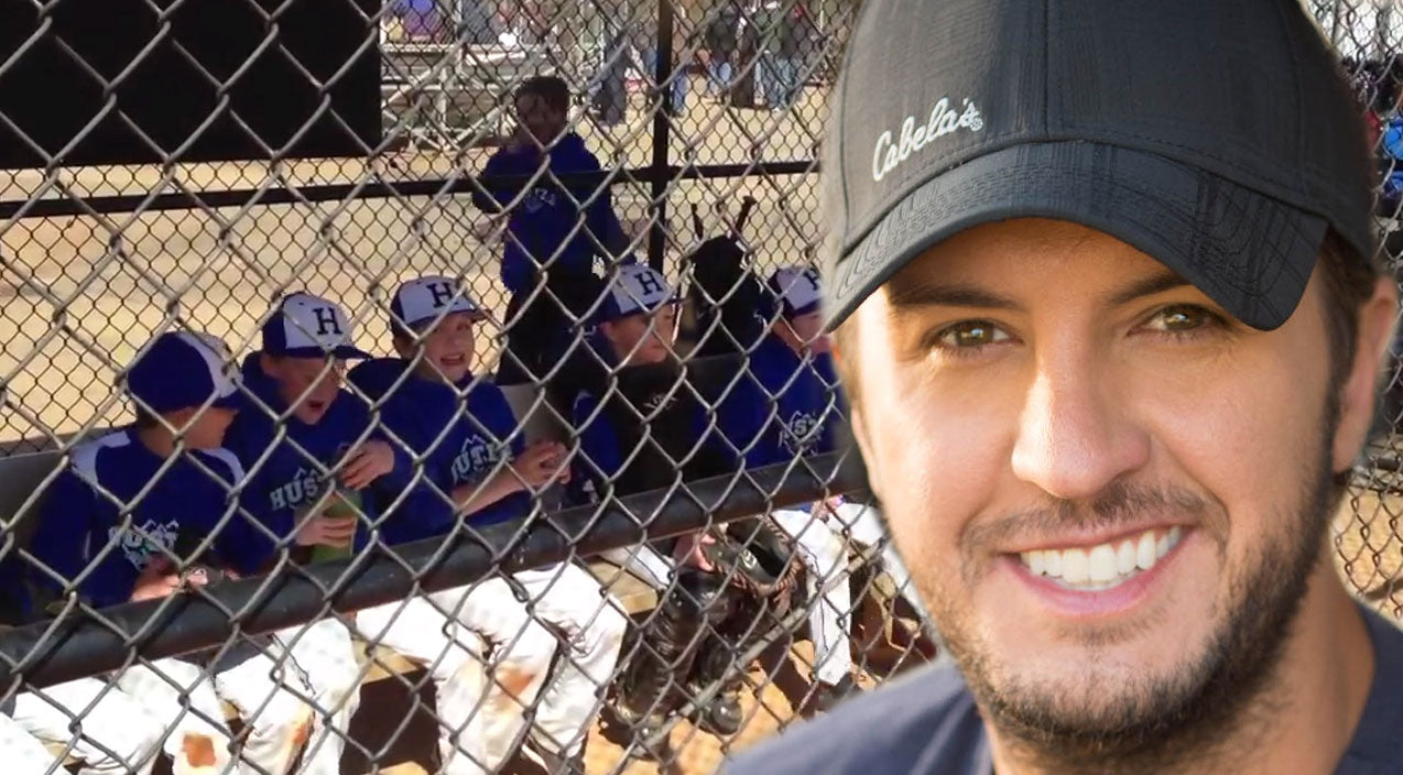 Luke bryan Songs | Adorable Little League Team Shows Up Luke Bryan (WATCH) | Country Music Videos