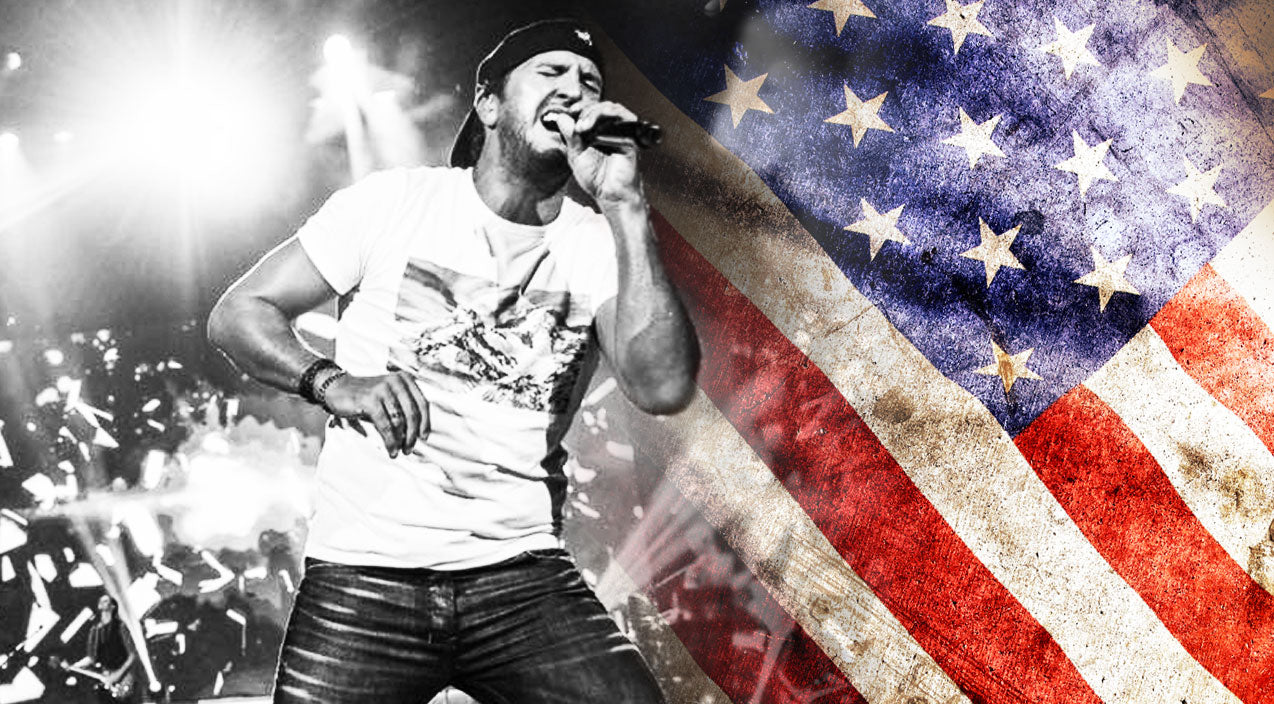 Luke bryan Songs | Luke Bryan Is A Patriotic Powerhouse In His Emotional Tribute To Soldiers | Country Music Videos