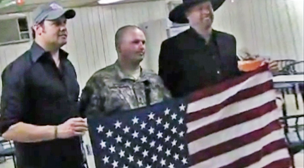 Montgomery gentry Songs | 10 Years Ago, Eddie & Troy Brought Thousands Of Soldiers An Incredible Gift | Country Music Videos