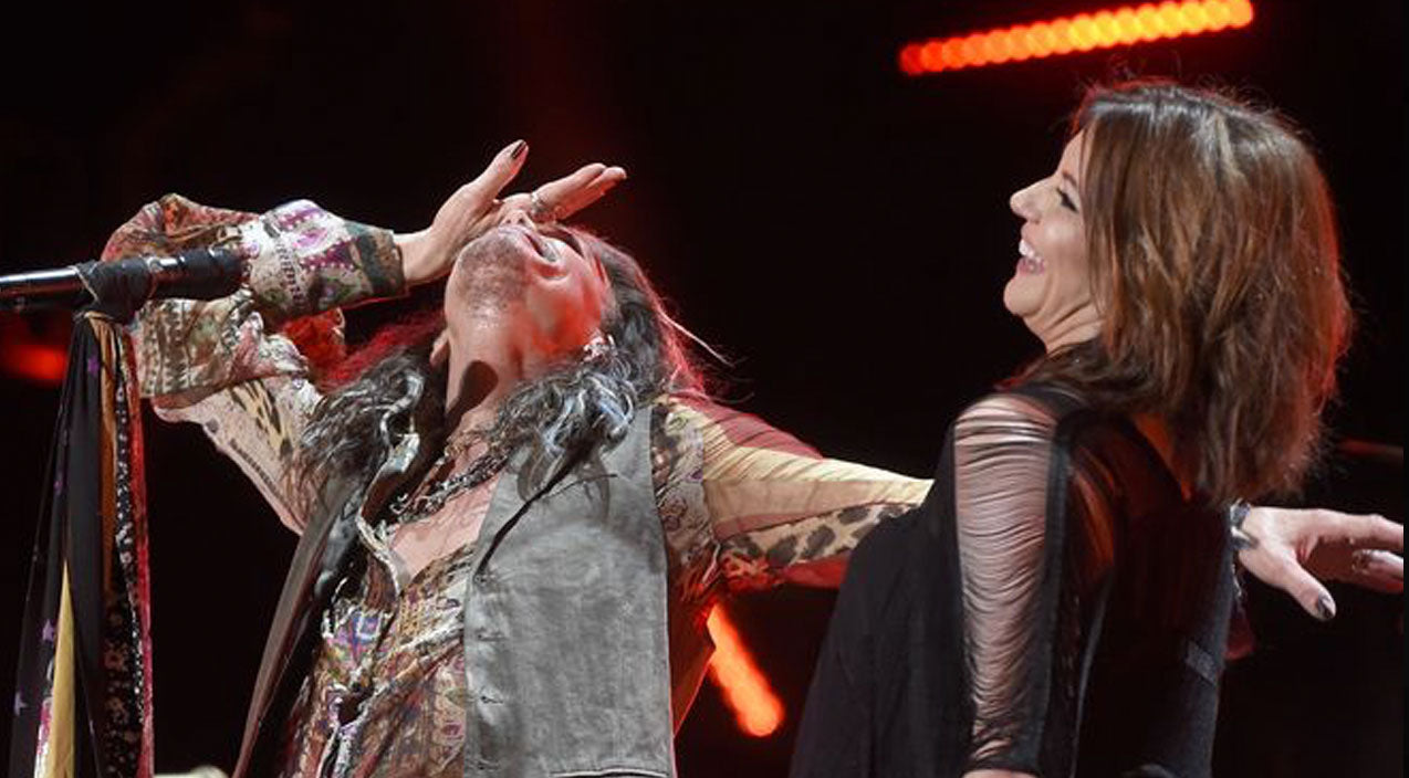 Steven tyler Songs | Martina McBride Gives Steven Tyler The Surprise Of A Lifetime! | Country Music Videos