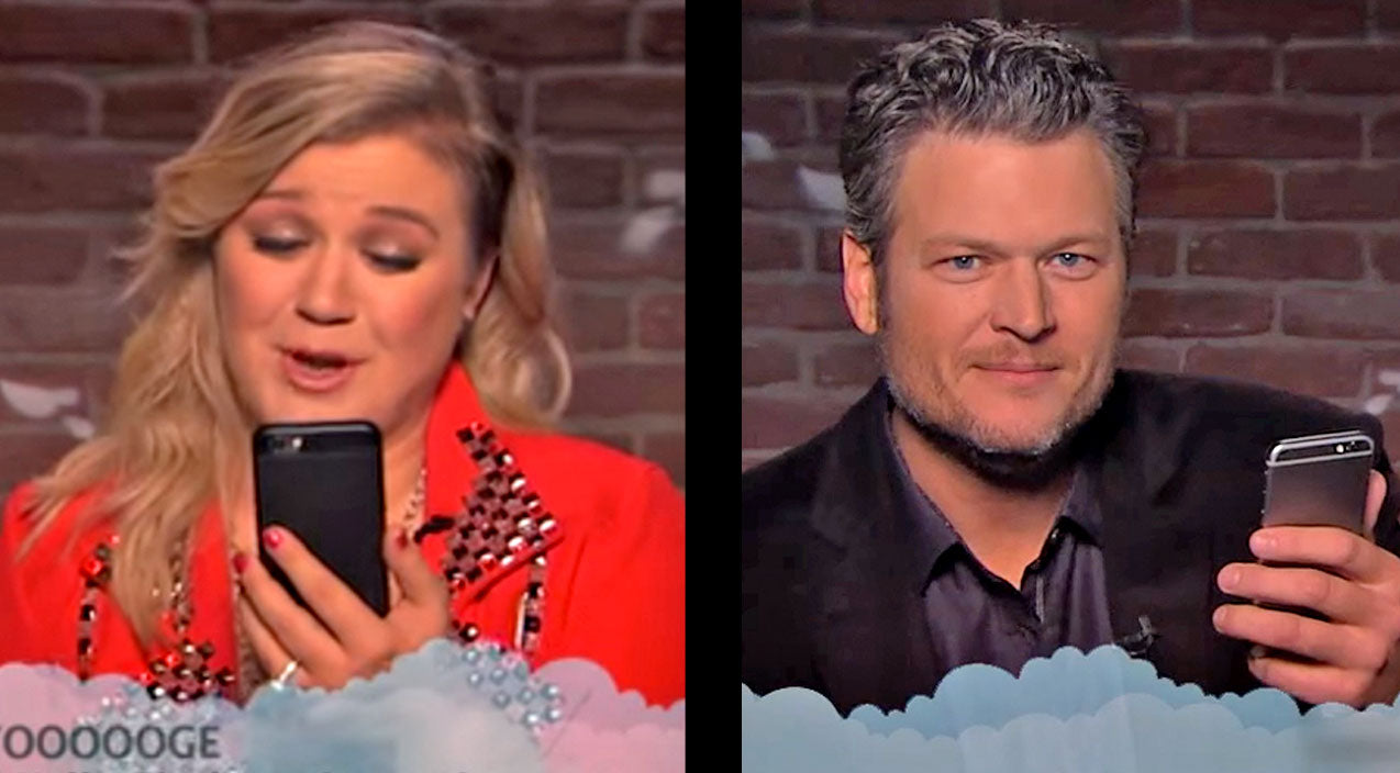 Modern country Songs | Newest 'Mean Tweets' Has Blake Shelton, Kelly Clarkson, & Little Big Town Howling With Laughter | Country Music Videos