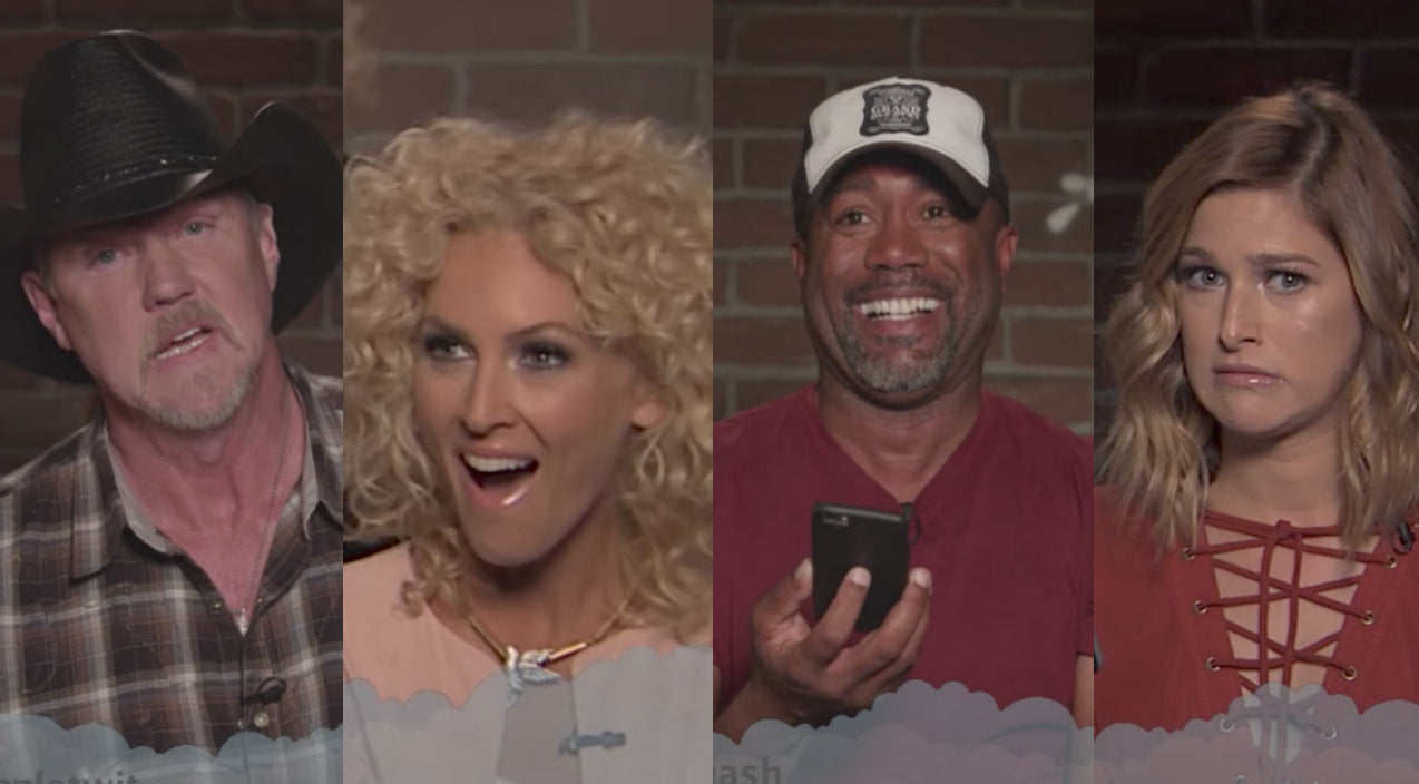 Zac brown band Songs | Country Stars Join Jimmy Kimmel Live For Brutal 'Mean Tweets' Segment | Country Music Videos