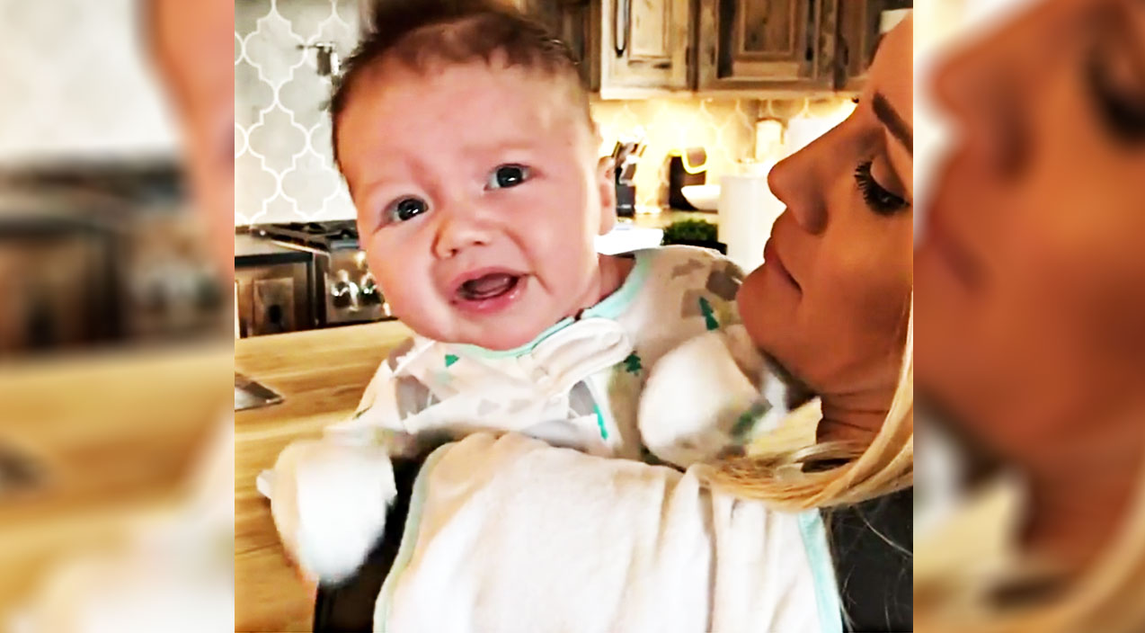 Jason aldean Songs | Jason Aldean's Hangry Baby Wigs Out In New Family Video | Country Music Videos