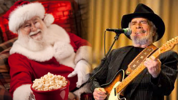 Merle haggard Songs | Merle Haggard - Santa Claus And Popcorn (VIDEO) | Country Music Videos