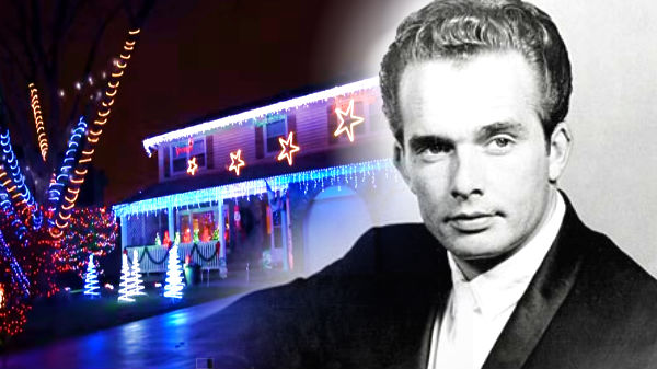 Merle haggard Songs | Merle Haggard - Santa Claus Is Coming To Town (Christmas Light Show) (VIDEO) | Country Music Videos