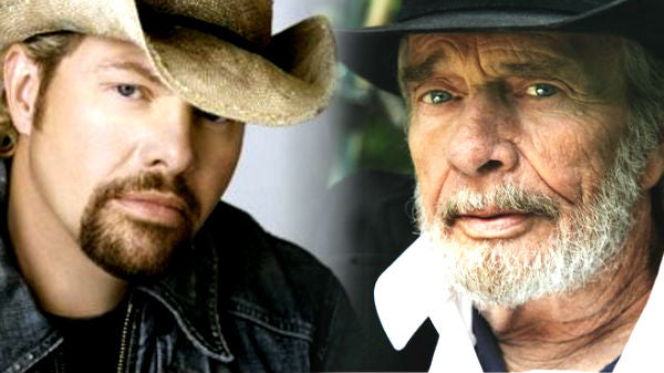 Toby keith Songs | Merle Haggard and Toby Keith Sing 'I Take A Lot Of Pride In What I Am' On Their Tour Bus (VIDEO) | Country Music Videos