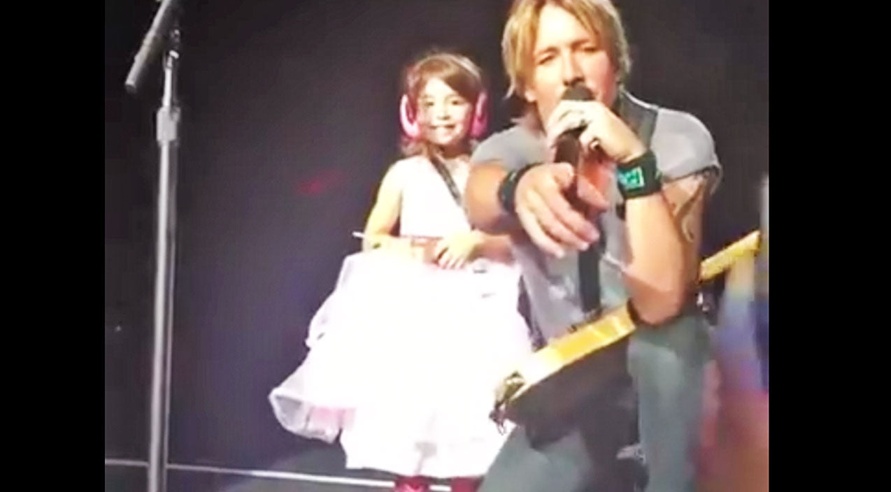 Modern country Songs | Keith Urban Pulls Little Girl From Crowd...What He Does Next?? I'm FLOORED! | Country Music Videos
