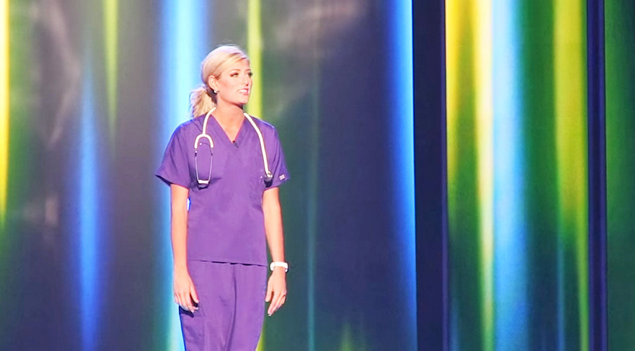 Miss Colorado Takes The Stage In Nursing Scrubs And Shocks Everyone | Country Music Videos