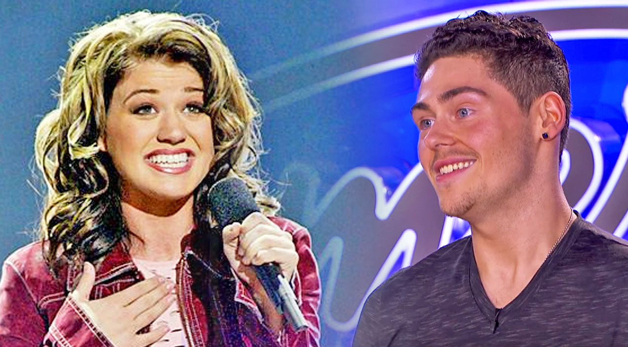 Kelly clarkson Songs | Kelly Clarkson Admirer, 'Mr. Clarkson' Can't Contain His Love During American Idol Audition | Country Music Videos