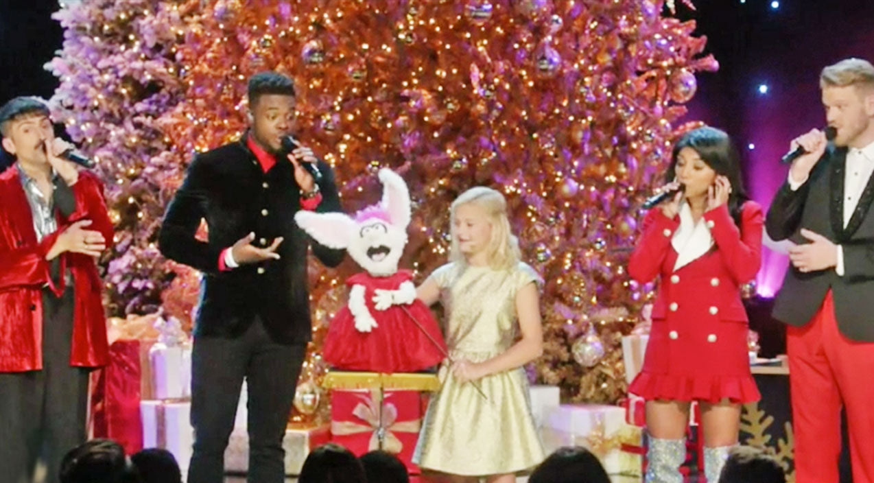 Pentatonix Songs | Ventriloquist Darci Lynne Teams Up With Pentatonix For Adorable Take On Christmas Tune | Country Music Videos