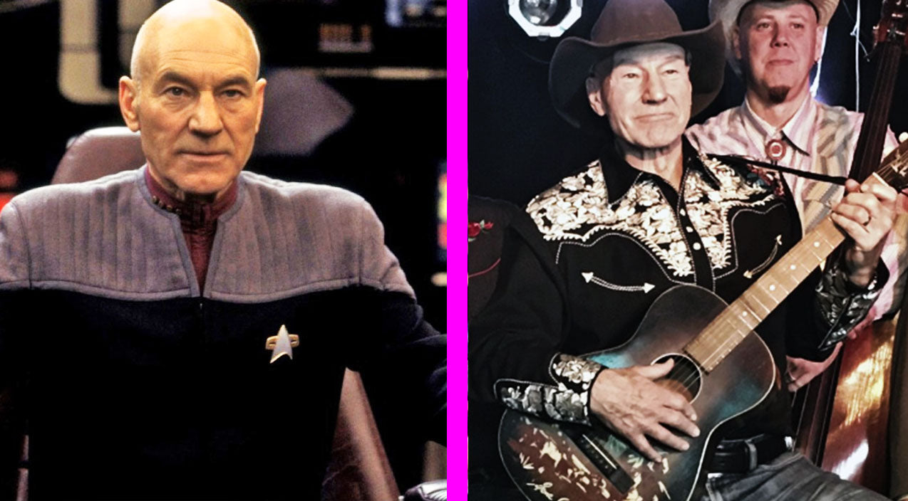 Classic country Songs | Star Trek's Patrick Stewart Launches Debut Country Album | Country Music Videos