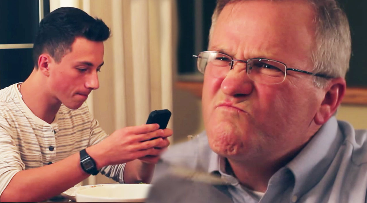 Classic country Songs | Strict Dad's Appropriate Response to Kids Texting at Dinner Table (MUST SEE!) | Country Music Videos
