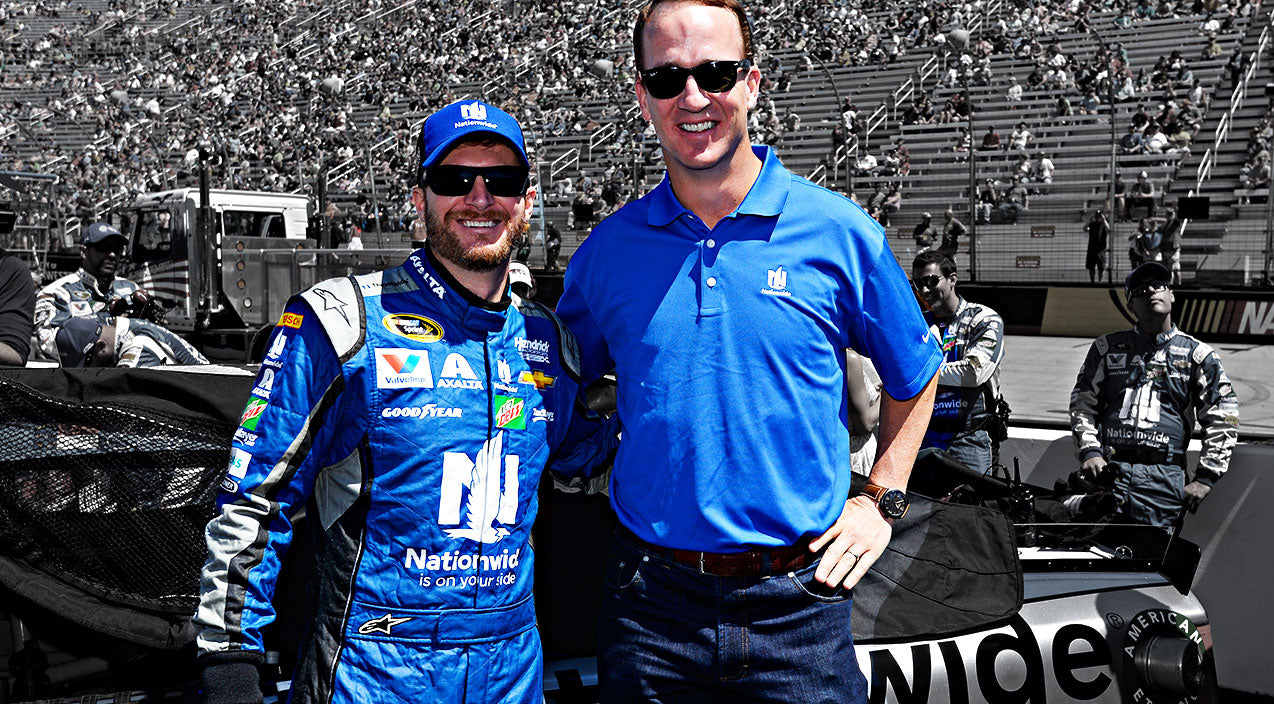 Peyton manning Songs | Peyton Manning Finds Exciting New Experience With NASCAR | Country Music Videos