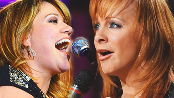 Reba mcentire Songs | Reba McEntire & Kelly Clarkson - Because of You (Behind the Scenes Recording DUETS) (VIDEO) | Country Music Videos