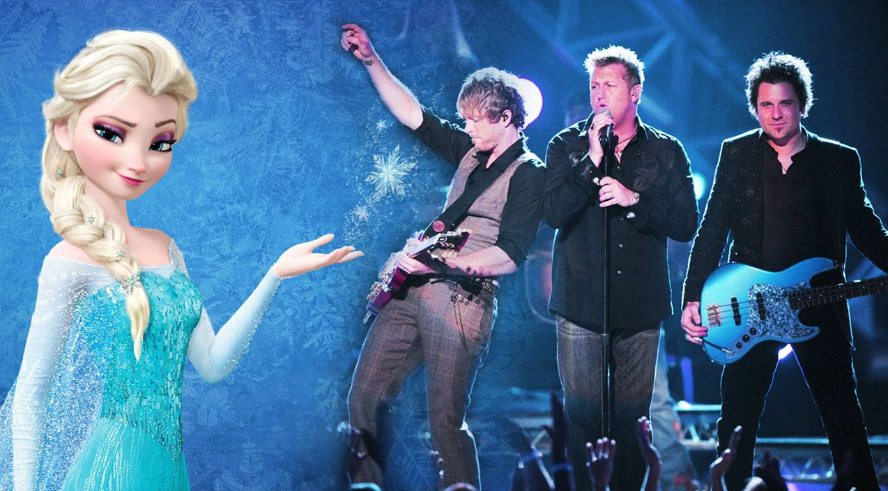 Rascal flatts Songs | Rascal Flatts' Enchanting Cover Duet Of 'Let It Go' Delivers Disney Magic | Country Music Videos