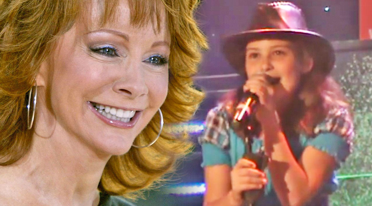 Reba mcentire Songs | Adorable 11-Year-Old Singing