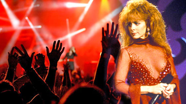 Reba - Clips on Infamous Red Dress (WATCH) | Country Music Videos