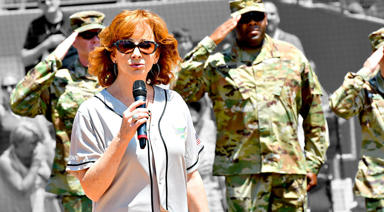 Reba mcentire Songs | Reba McEntire's Powerful Delivery Of The National Anthem Will Rock Your World | Country Music Videos