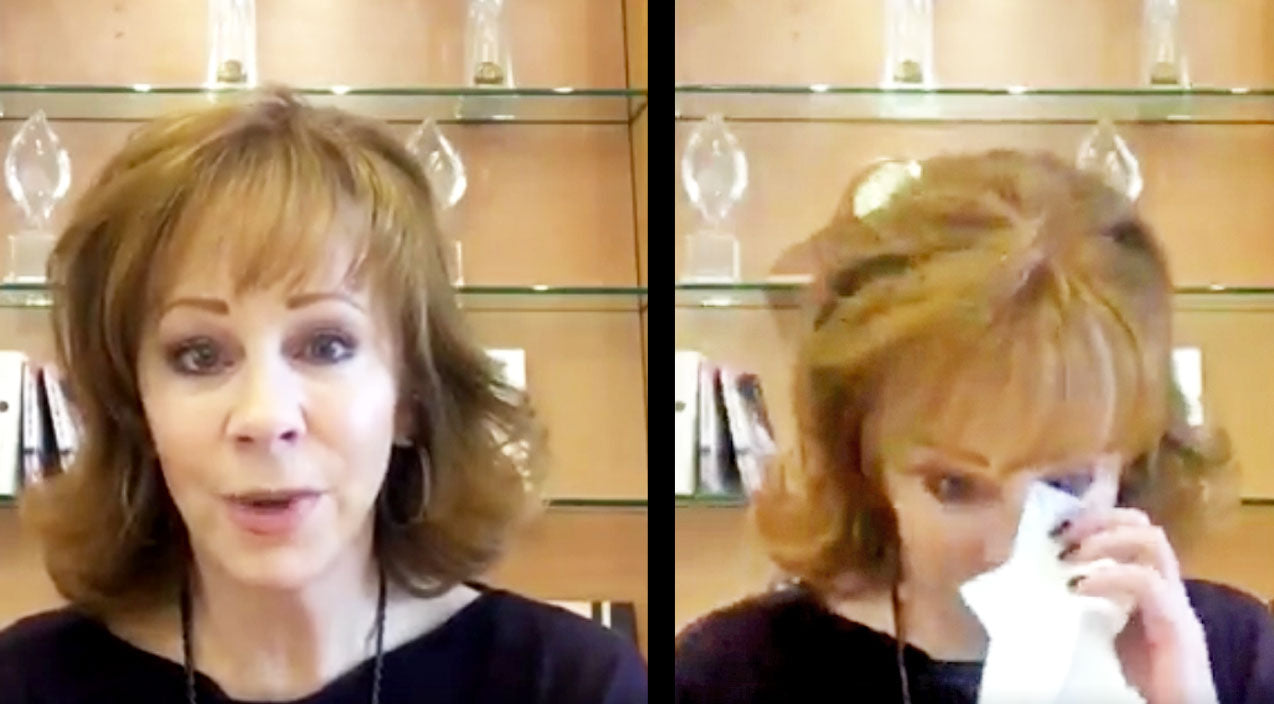 Reba mcentire Songs | Reba McEntire Fights Back Tears Reading Fans' Stories About Losing A Loved One | Country Music Videos