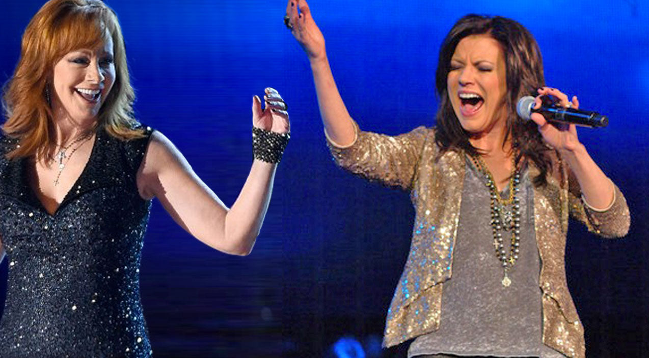 Reba mcentire Songs | Martina McBride & Hillary Scott Team Up For Jaw-Dropping Reba Tribute | Country Music Videos