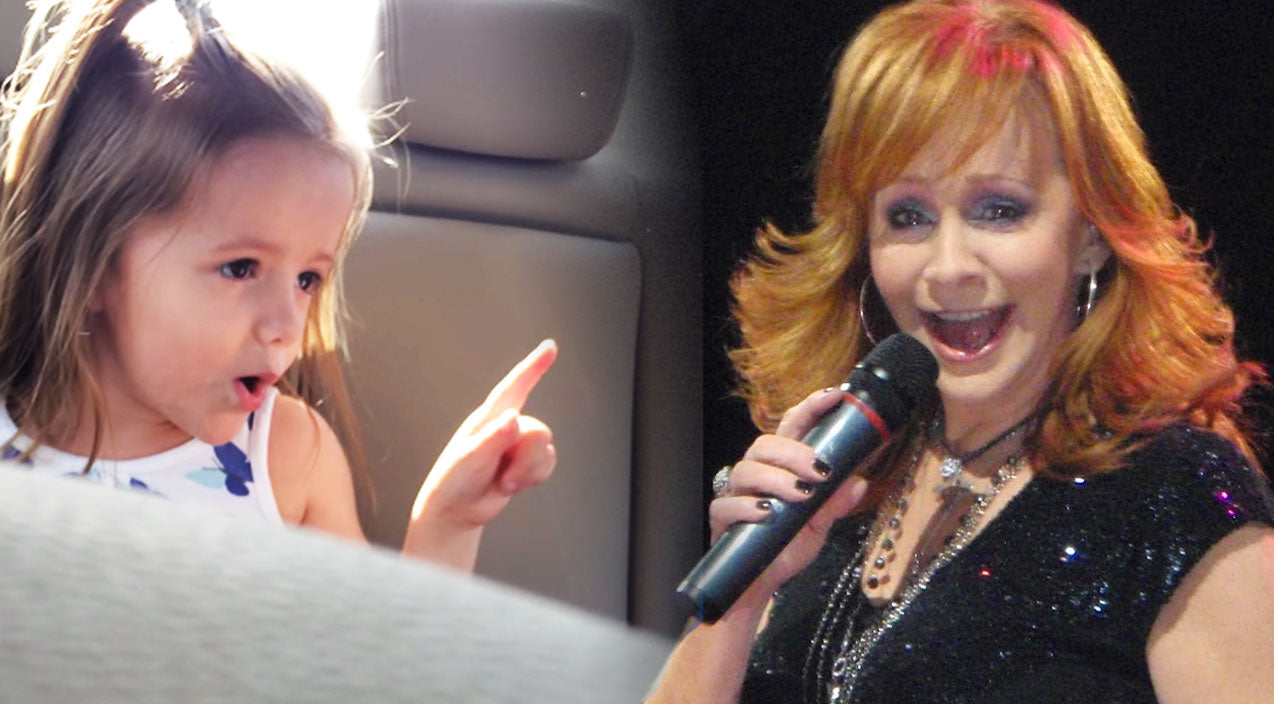 Reba mcentire Songs | Sassy 4-Year-Old Sings Reba McEntire's 'Fancy' With Some SERIOUS Attitude | Country Music Videos