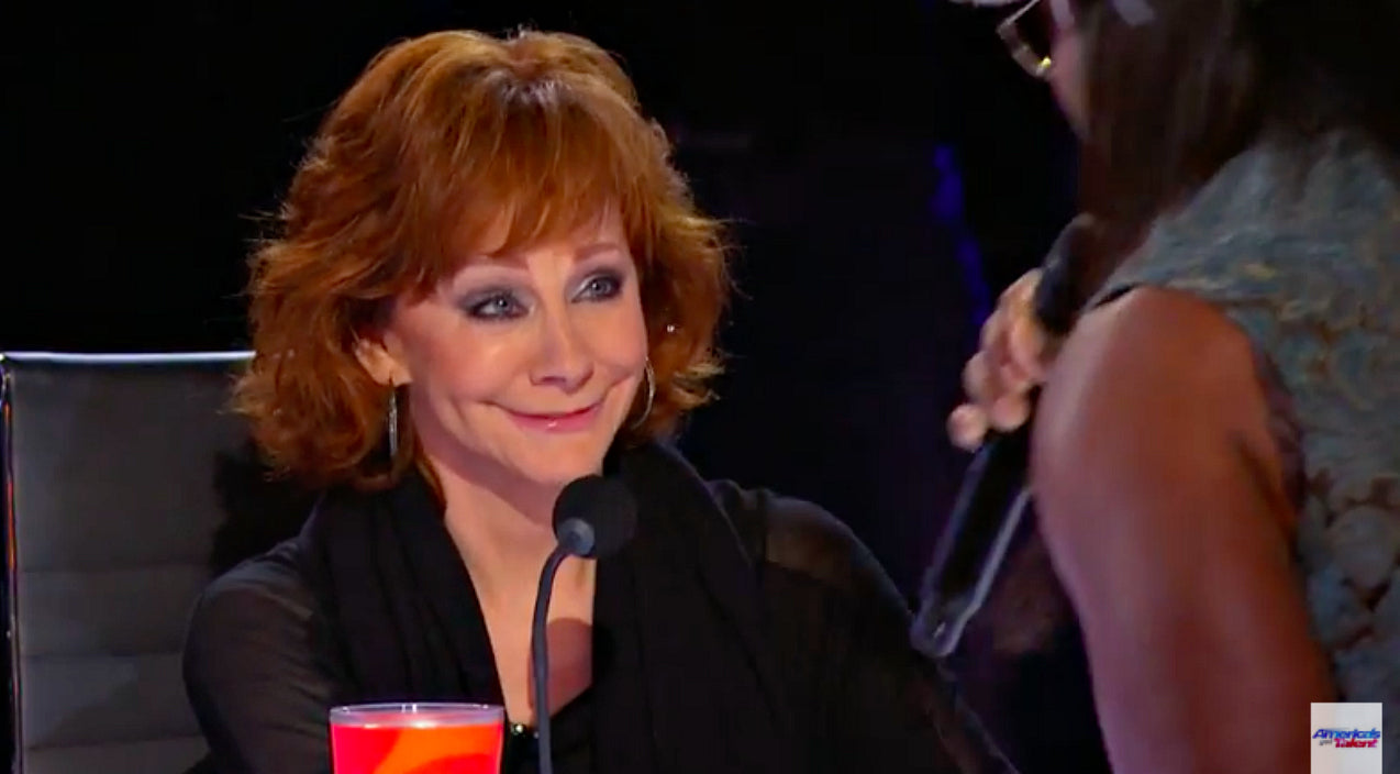 Reba mcentire Songs | Bodybuilding Singer Makes Reba Blush On 'America's Got Talent' | Country Music Videos