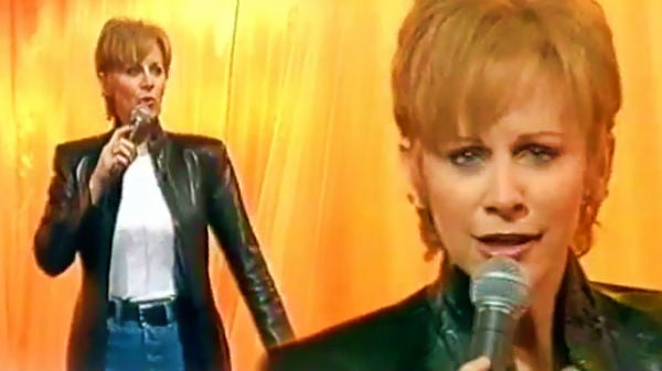 Reba mcentire Songs | Reba McEntire - I'd Rather Ride Around With You (UK TV Appearance Live) | Country Music Videos