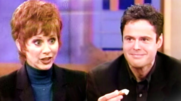 Reba mcentire Songs | Reba McEntire Serves Donny Osmond Mountain Oysters (VIDEO) | Country Music Videos