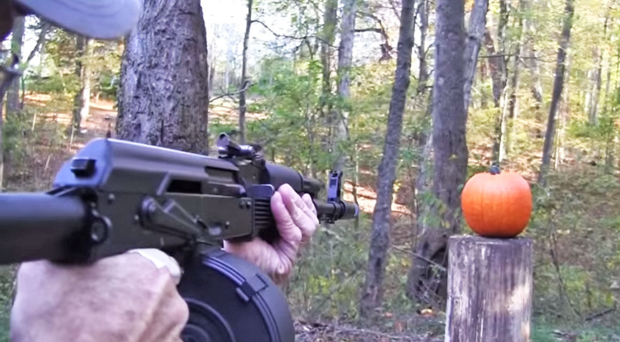 Pumpkin Carving With An AK-47? This Is Genius! | Country Music Videos