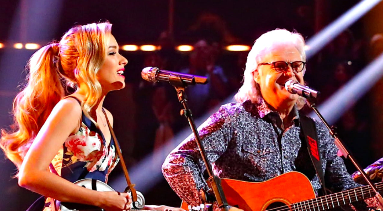 Ricky skaggs Songs | Emily Ann Roberts' Dream Comes True With Ricky Skaggs Duet On 'The Voice' | Country Music Videos