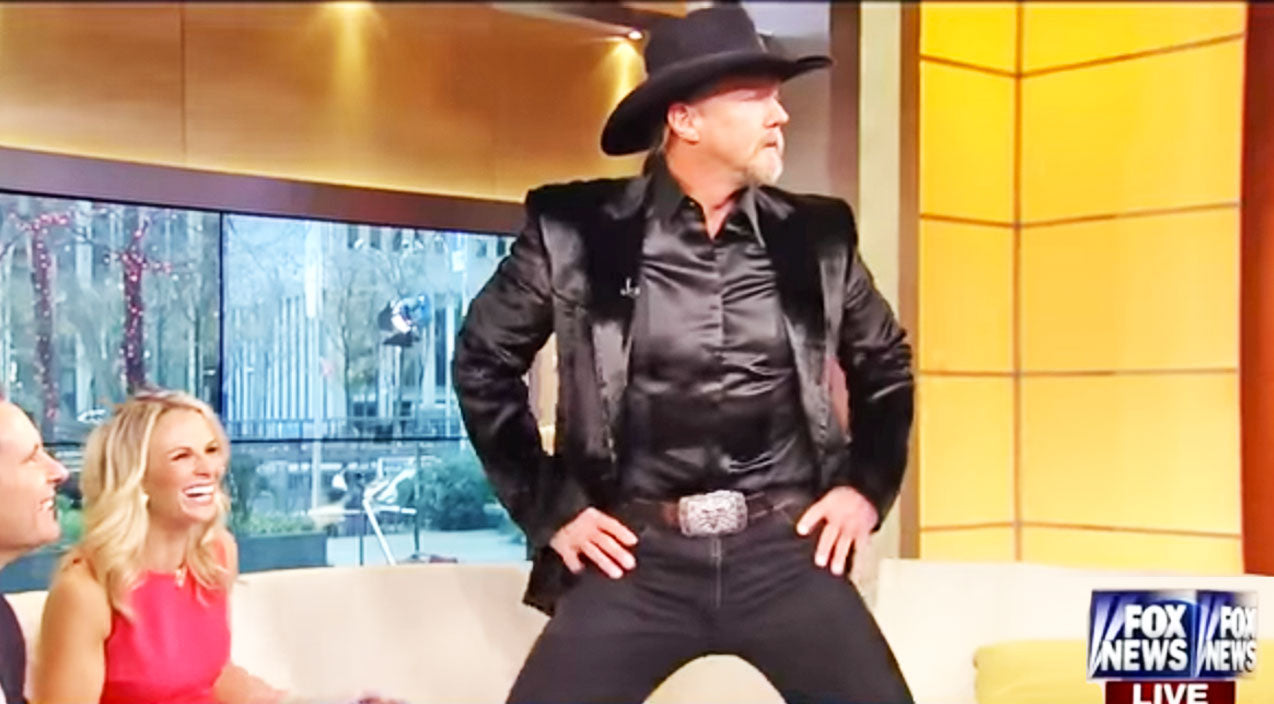 Trace adkins Songs | FLASHBACK: Trace Adkins Thrusts His Hips In Risqué Holiday Interview | Country Music Videos